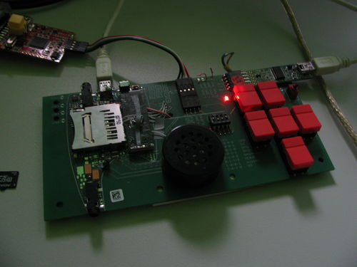 iMX233 Audio Development Board
