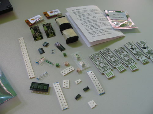 MC HCK Prototype Kit Contents
