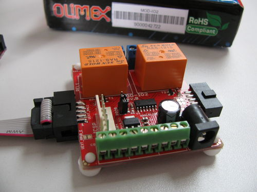 OLinuXino with a USB 3G modem