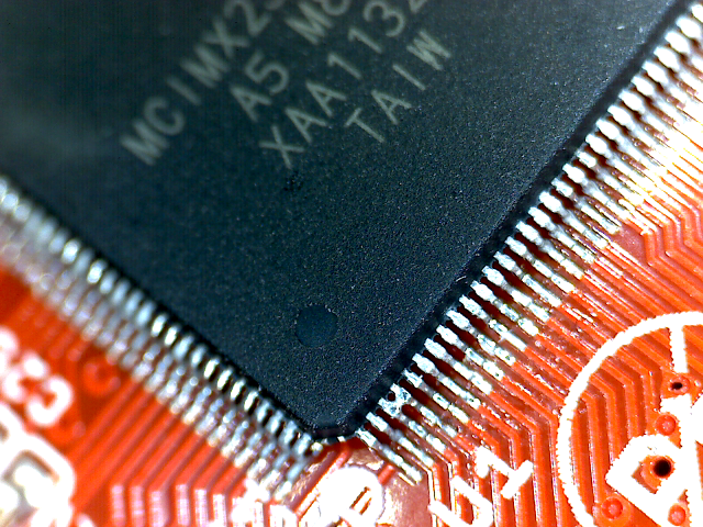 OLinuXino solder bridge