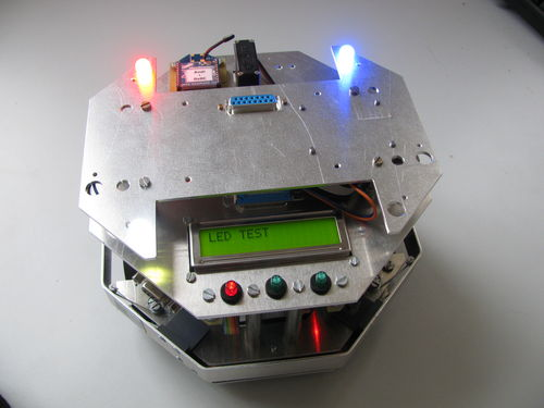 Robolaus 2 with LED module