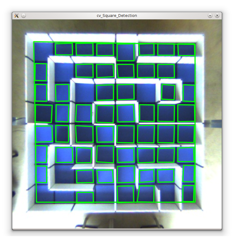 Laustracker square detection